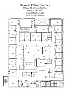 Upper West Side Office Space - Floor Plans
