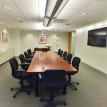 Conference room space for rent in the Plaza District, NYC.