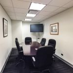 office space in the Plaza District NYC - Executive conference room