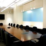 Conference room available for lease in Tribeca for executive team meetings.