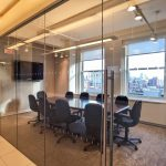 Tribeca office conference room available for rent and lease.