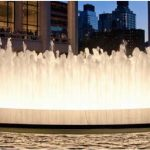 Lincoln Center Fountain in Upper West Side, New York, NY