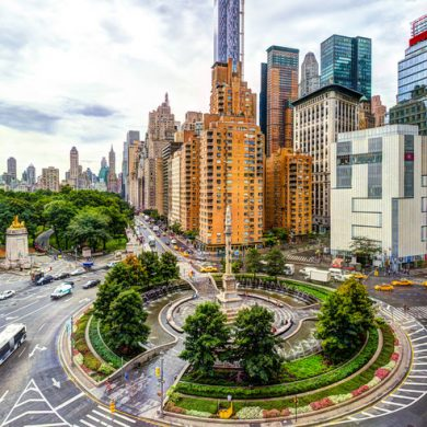 5 columbus circle office space building