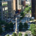 View from executive office suite at 5 Columbus Circle