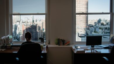 Office space for lease in Downtown Manhattan.